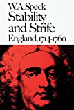 img - for Stability and Strife: England, 1714-1760 (New History of England) book / textbook / text book