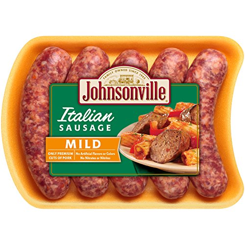 - Johnsonville, Mild Italian Sausage, 19 oz (Frozen)