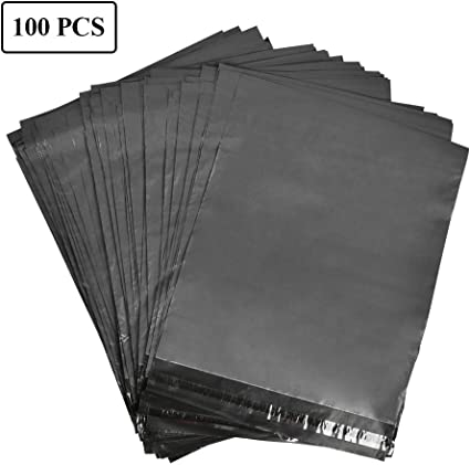 Sacchetti per spedizione 20 x 31 cm colore: Bianco HomeCorner buste per posta in plastica opaca 4 cm buste