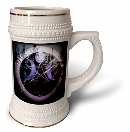 WhiteOaks Photography and Artwork - Halloween - Samhain Design is my yearly creation designed for a pagan holiday - 22oz Stein Mug (stn_245653_1) -