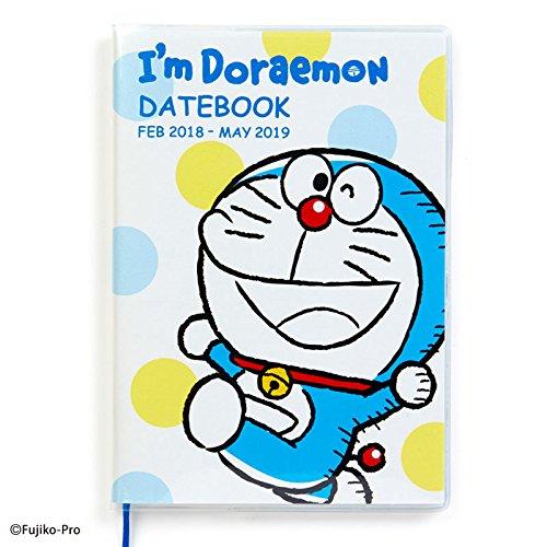 Sanrio Doraemon B6 date book April beginning 2018 I'm DORAEMON From Japan New
