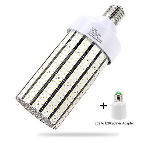 120W LED Corn cob Light Bulb, Large Mogul Base E39 LED Bulbs,5000K Daylight AC110-277V,LED Replacement 600W Metal Halide HID HPS for steet Area Warehouse Parking lot High Bay Canopy shoebox Fixture