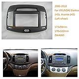 Autostereo 11-065 Car Radio Adapter In-Dash Mounting Frame 2DIN for HYUNDAI Elantra HD Avante HD 2006-2010 Left wheel Car Radio Installation Frame HYUNDAI Elantra HD Avante HD