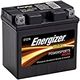 Energizer ETZ7S Motorcycle and Atv 12V Battery, 130 Cold Cranking Amps and 6 Ahr,  Replaces: CTZ7S, YTZ7S, M727ZS, YTZ7S, ES-TZ7S, TZ7S, GTZ7SFP, FAITZ7S, MB YTZ7-S