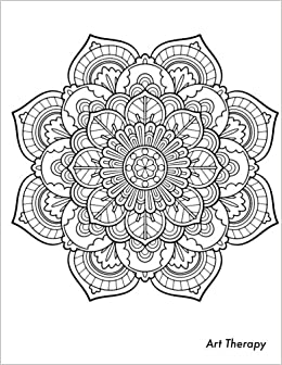 Amazon Com Art Therapy Sketchbook Sketchbook With