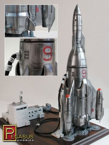Pegasus Hobby Mercury 9 Rocket Model Kit - 9103 from Pegasus Hobby