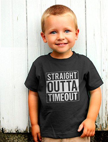 e0ee64267 Tstars - Straight Outta Timeout Funny Toddler/Infant Kids T-Shirt ...