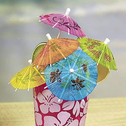 Drink Umbrellas Assorted 144ct