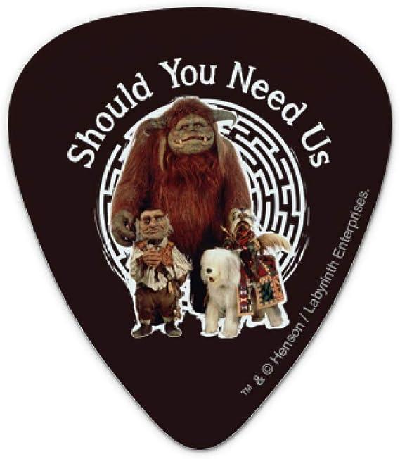 Set of 6 Friend Ludo From The Labyrinth Novelty Guitar Picks Medium Gauge