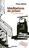 Image de Meditations de prison (Yaounde, Cameroun) (French Edition)