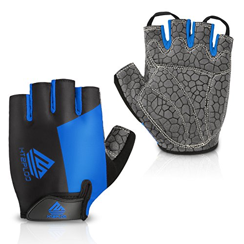 HTZPLOO Bike Gloves Bicycle Glov...
