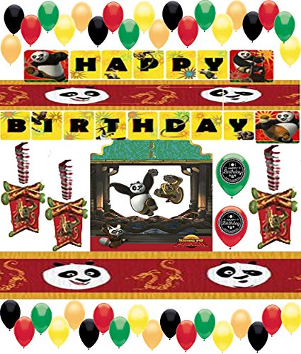 Kung Fu Panda Party Supplies - Combined Brands Kung Fu Panda Deluxe