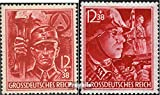 German Empire 909-910 (complete.issue.) with hinge 1945 party formation (Stamps for collectors)