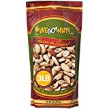 Raw Brazil Nuts- 3 Pounds,(48oz) Superior To Organic - Natural, Whole, Unsalted, Shelled , No Preservatives, Kosher…