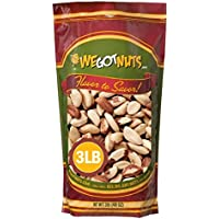 Brazil Nuts - 3 Pounds ,Whole, Shelled, Raw, Natural, No Preservatives Added, NO PPO, We Got Nuts …
