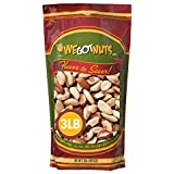 Raw Brazil Nuts- 3 Pounds,(48oz) Superior To Organic - Natural, Whole, Unsalted, Shelled , No Preservatives, Kosher Certified