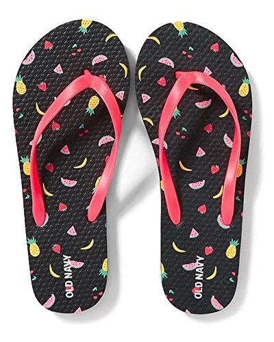 Flip Flops for Girl's Different Styles - Great Prices (1/2, Mixed Fruit) (Old Navy Girls Flip Flop)