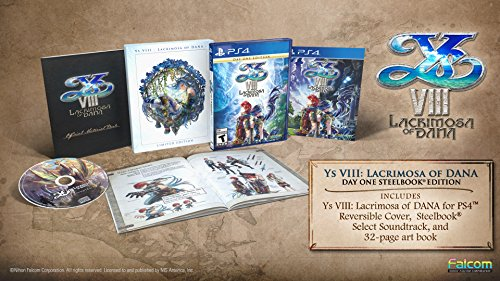 Ys Viii  Lacrimosa Of Dana   Steelbook Edition   Playstation 4 Steelbook Edition