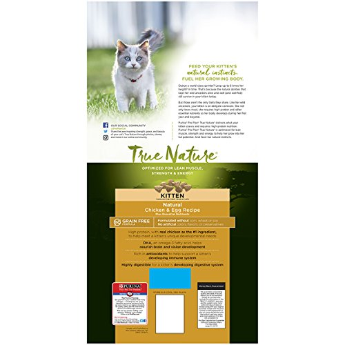 Purina Pro Plan TRUE NATURE Chicken & Egg Recipe