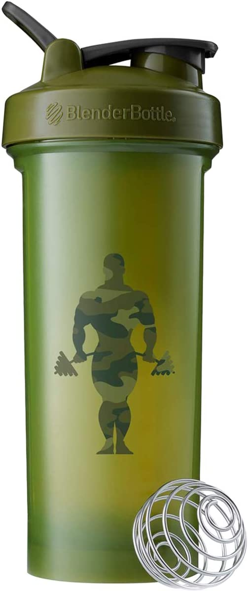 Blender Bottle Gold's Gym Classic 45 oz. SpoutGuard Shaker Cup - Moss Green
