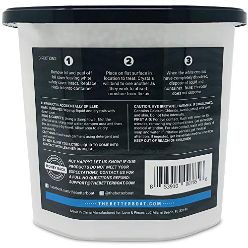Boat Dehumidifier Moisture Absorber And Charcoal