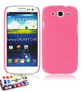 "ORIGINAL MUZZANO Pink ""Alvéolia"" Shell for SAMSUNG GALAXY S3"