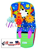 Taf Toys Toe Time Infant Car Toy Kick and Play Musical Travel Activity Center for Rear Facing Baby