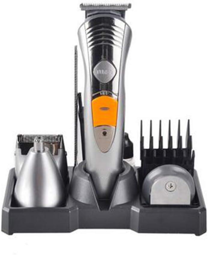 Hair clipper JFW-7 en 1 Recargable Recortador de Cabello eléctrico Barba Afeitadora Nariz Recortador de Cabello Kit de Aseo: Amazon.es: Deportes y aire libre