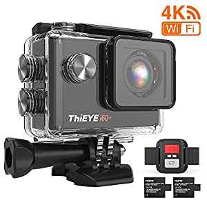 ThiEYE 4K 20MP WiFi Action Camera Full HD Waterproof Cam 197ft Underwater Camcorder 170° Wide-angle Sports Camera with…