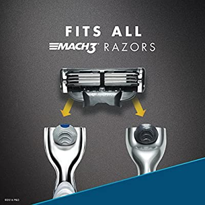 Gillette Mach3 Men's Razor Blade Refills, Mens Razors / Blades, 15 Count (Packaging May Vary)