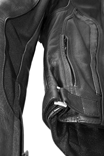 Clutch and Canyon Women's Leather Motorcycle Jacket (X-Small) by Clutch and Canyon (Image #5)