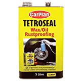 Tetroseal Waxoil Car Rustproof Clear Car Rust Proofing 5 Litre TWO005