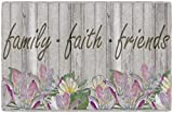 Brumlow Mills EW10127-20x34 Family Faith and Friends Seasonal Kitchen and Entryway Spring Flower Rug, 1'8 x 2'10