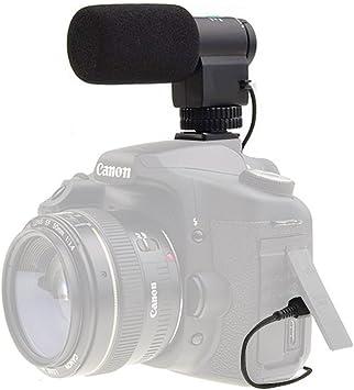 Esterno Stereo Microfono per fotocamera digitale /& Camcorder//90 ° o 120 °