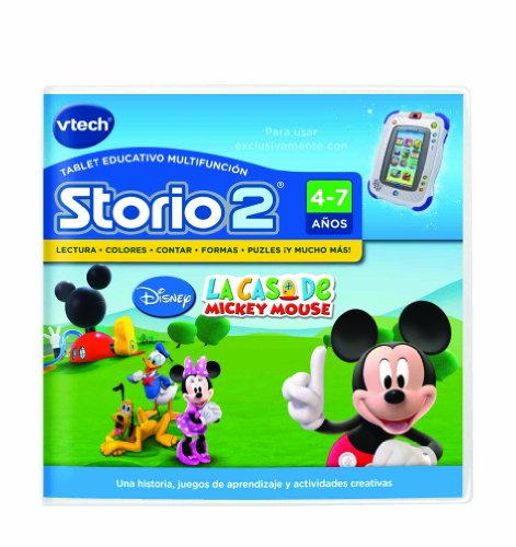 Vtech Spanish - Vtech Storio 2 Mickey - Juego en (Storio 2)