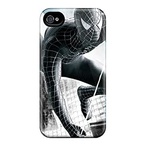 Hot Design Premium DDy1445gBNA Tpu Case Cover Iphone 5/5s Protection Case(spider Man 3 Hd)