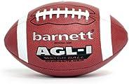Barnett AGL-1 Football Ball Match, Composite Leather, Size Senior, Brown