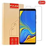 PULEN Samsung Galaxy A9 2018 Screen Protector, 0.3MM Slim Anti-Scratch Bubble Free Ultra Clear 9H Hardness Tempered Glass Film Samsung Galaxy A9 2018 (2 Packs)