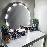 Tools & Hardware : PENSON Lighted Mirror LED Light for Cosmetic Makeup Vanity Mirror Kit, 20 LED Lights