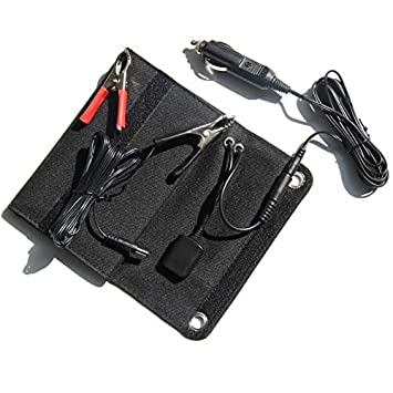SODIAL 5V / 12V 18V 6W Cargador de Panel Solar USB + DC ...
