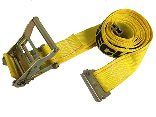 Seculok 2'' x 12' Logistic Ratchet Cargo Strap with E/A Series Spring Fitting by SECULOK
