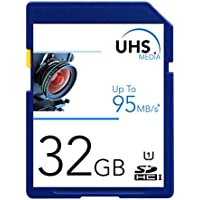 UHS Media 32gb SDHC-UHS-1 Memory Card for NIKON COOLPIX L29