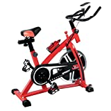 {US STOCK}Teekland Stationary Exercise Bicycle Indoor Bike Cycling Cardio Health Workout Fitness with 13kg Flywheel