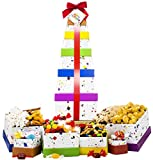 Happy Birthday Celebration Gift Basket Box Tower - 6 Tier