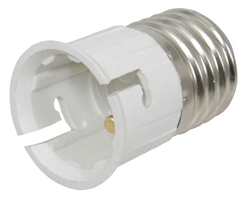 Lamp Light Socket Converter E27 B22 Bayonet Co Uk Lighting
