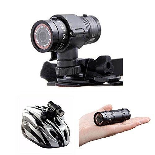 フルHD 1080P 防水スポーツヘルメット自転車DVRアクションカム 円筒形ウェアラブルカメラ ドライビングレコーダー 自転車 かー スケートボードヘルメットホルダー付き