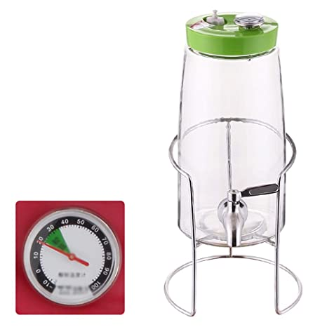 Dispensador de Bebidas - Botella de Vidrio de enzimas de ...