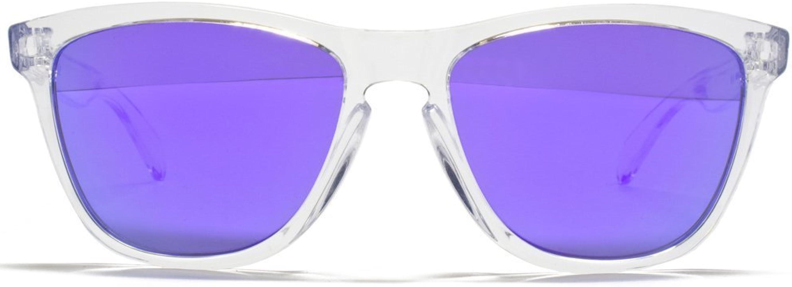 Oakley Frogskins Pulido Gafas De Sol Wayfarer Clara Con Lente ...