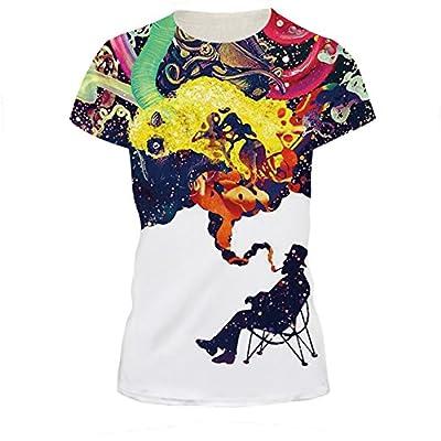 Jiayiqi Fashion Short Sleeve O-Neck Summer Top T-shirt for Women Girls