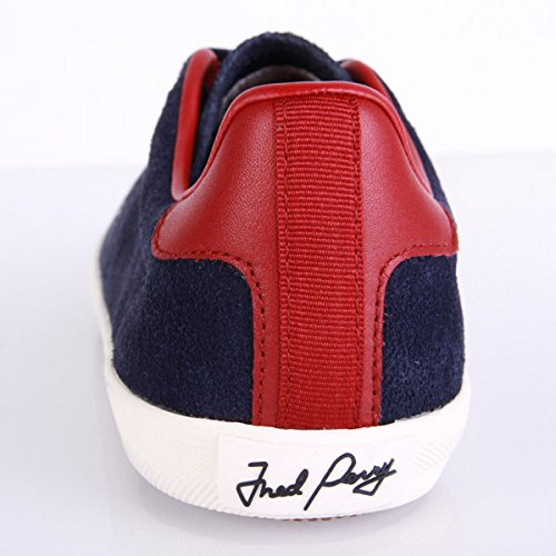 Fred Perry Howells Unlined Suede Carbon Blue